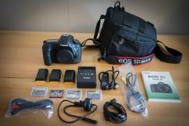 Камера Canon EOS 5D Mark III DSLR с объективом 24-105 мм