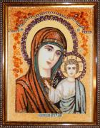 Картины из янтаря - Иконы