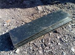 Резина на отвал снегоуборочный 40х250х1000